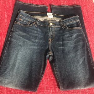 🍀 Lucky brand blue jeans midrise Flare regular 29